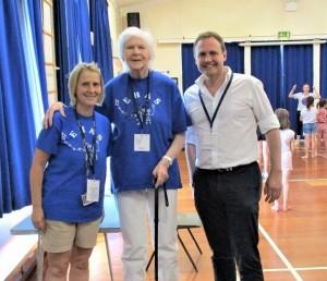 Tom, Sharron and Christine